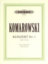 Komarovsky - Concerto No.1 E Minor - Violin And Piano