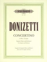 Donizetti Gaetano - Concertino - Cor Anglais