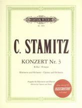 Stamitz Carl - Clarinet Concerto No. 3 In B Flat - Clarinet And Piano