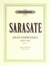 Sarasate Pablo De - Gypsy Airs (zigeunerweisen) Op.20 - Violin And Piano