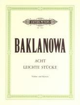 Baklanowa Natalja - Eight Easy Pieces - Violin And Piano