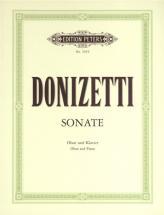 Donizetti Gaetano - Oboe Sonata In F (concertino) - Oboe And Piano