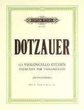 Dotzauer Friedrich - 113 Exercises Vol.4 - Cello