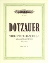 Dotzauer Friedrich - Violioncello Tutor Vol.3