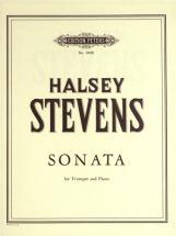 Stevens Halsey - Sonata - Trumpet And Piano