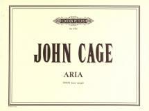 Cage John - Aria - Voice(s) And Various Instruments (par 10 Minimum)