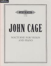 Cage John - Nocturne For Violin And Piano