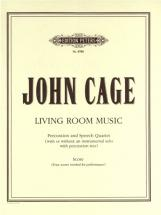 Cage John - Living Room Music - Small Ensemble