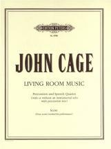 Cage John - Living Room Music - Small Ensemble