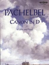 Pachelbel Johann - Canon In D - Violin And Piano