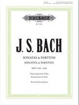 Bach J.s. - Sonates & Partitas Bwv 1001-1006 - Alto