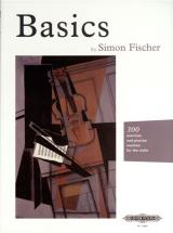 Fischer Simon - Basics, By Simon Fischer - Violin