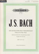 Bach J. S. - Suiten Für Cello - Transcription Pour Alto