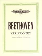 Beethoven Ludwig Van - Variations - Cello And Piano