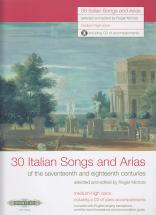 30 Italian Songs And Arias + Cd (voix Moyenne Ou Haute / Piano)