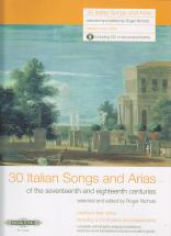 30 Italian Songs And Arias + Cd (voix Moyenne Ou Grave / Piano)