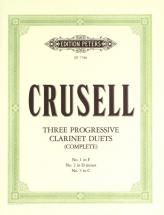 Crusell Bernhard Henrik - Progressive Duets - Clarinet Ensemble