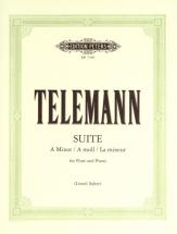 Telemann Georg Philipp - Suite In A Minor - Flute And Piano