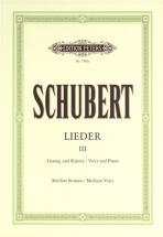 Schubert Franz - Songs Vol.3: 45 Songs - Voice And Piano (par 10 Minimum)
