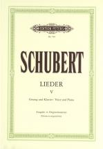 Schubert Franz - Songs Vol.5 - Voice And Piano (par 10 Minimum)