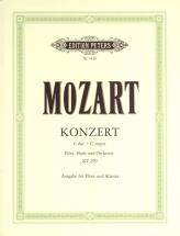 Mozart Wolfgang Amadeus - Concerto In C For Flute, Harp And Orchestra K.299 - Flute And Piano