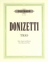 Donizetti Gaetano - Trio In F - Flute(s) And Other Instruments