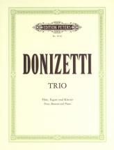 Donizetti Gaetano - Trio In F - Flute(s) And Other Instruments