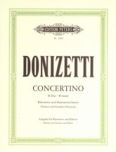 Donizetti Gaetano - Clarinet Concertino In B Flat - Clarinet And Piano
