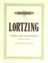 Lortzing Albert - Theme And Variations - Trumpet And Piano