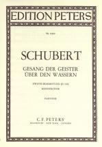 Schubert Franz - Gesang Der Geister über Den Wassern - Mixed Choir (par 10 Minimum)