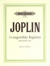 Joplin Scott - 14 Selected Ragtimes Vol 2 - Piano 4 Hands