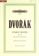 Dvorák Anton - Stabat Mater Op.58 - Mixed Choir (par 10 Minimum)