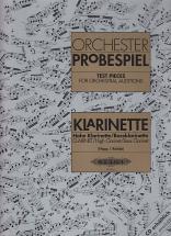 Orchesterprobespiel - Clarinette