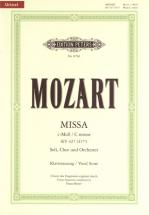 Mozart Wolfgang Amadeus - Mass In C Minor K427 - Mixed Choir (par 10 Minimum)