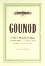 Gounod Charles - Messe Solennelle En L