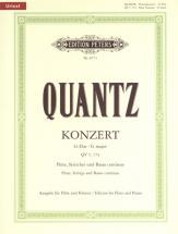 Quantz Johann Joachim - Flute Concerto In G Major Qv5:174 - Flute And Piano