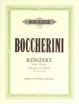 Boccherini Luigi - Concerto In B Flat - Cello And Piano