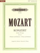 Mozart Wolfgang Amadeus - Concerto No.10 In E Flat For 2 Pianos K365 - Piano (multiple)