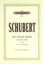 Schubert Franz - German Mass/deutsche Messe D872 - Mixed Choir (par 10 Minimum)