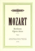 Mozart Wolfgang Amadeus - Famous Opera Arias For Tenor - Voice And Piano (par 10 Minimum)