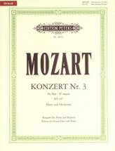 Mozart Wolfgang Amadeus - Horn Concerto No.3 In E Flat K.447 - Horn And Piano
