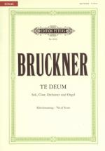Bruckner Anton - Te Deum C - Vocal Score (par 10 Minimum)