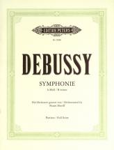 Debussy Claude - Symphony In B Minor - Full Scores