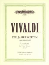 Vivaldi Antonio - The Four Seasons Op.8 No.4 In F Minor