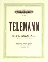 Telemann Georg Philipp - 6 Sonatinas - Violin And Piano