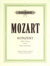 Mozart Wolfgang Amadeus - Concerto No.4 In D K218 - Violin And Piano