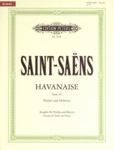Saint-saens Camille - Havanaise Op.83 - Violin And Piano