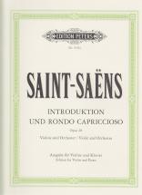 Saint-saëns C. - Introduction Et Rondo Capriccioso Op. 28 - Violon Et Piano