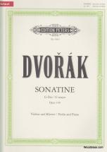 Dvorák Anton - Sonatina In G Op.100 - Violin And Piano