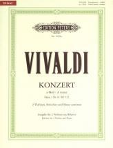 Vivaldi A. - Concerto In A Minor Op.3 No.8 - Violin And Piano